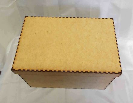 Memory Box - Christmas Eve Box  with lid mdf laser cut